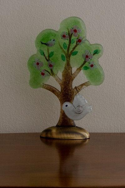 Δέντρο από φυσητό γυαλί μεσαίο