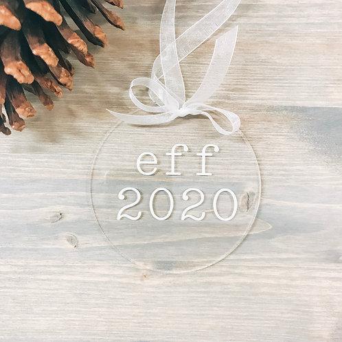 Eff 2020 Ornament