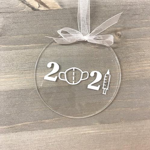 2021 Covid Ornament