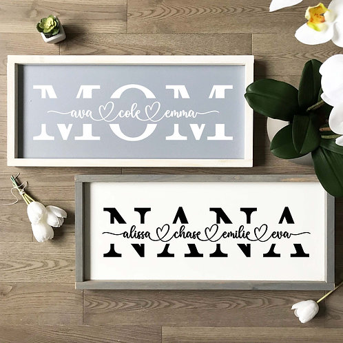 Mother/Grandmother Sign