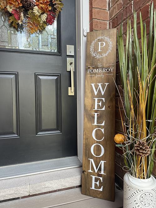 Custom Porch Sign