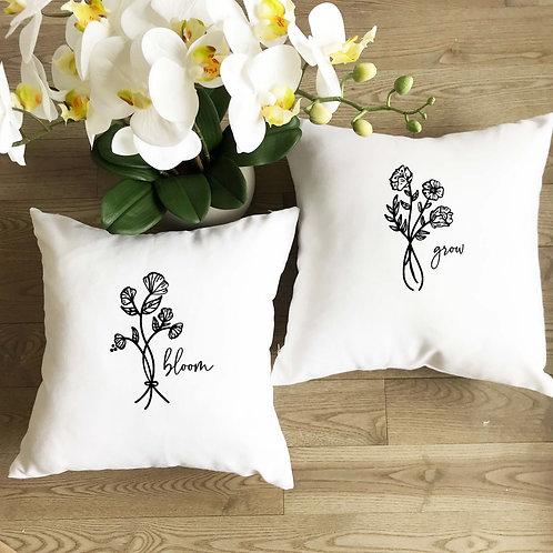 Bloom & Grow Pillow Set