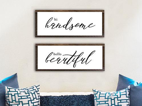 Hi Handsome/Hello Beautiful - Set