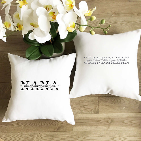 Mother/Grandmother Pillow