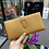 Thumbnail: Bearn long wallet 芝麻色金扣