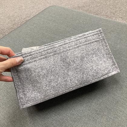 K28 外縫 inner bag (pebble)