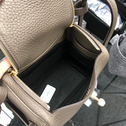 Mini Lindy inner bag (black)