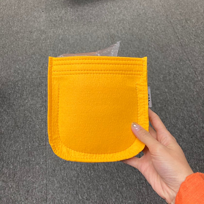 Mini evelyne inner bag (yellow)