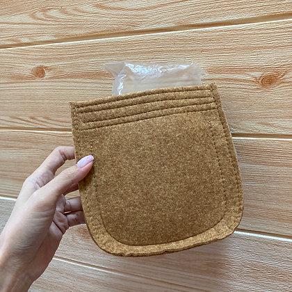 Mini evelyne inner bag (camel)
