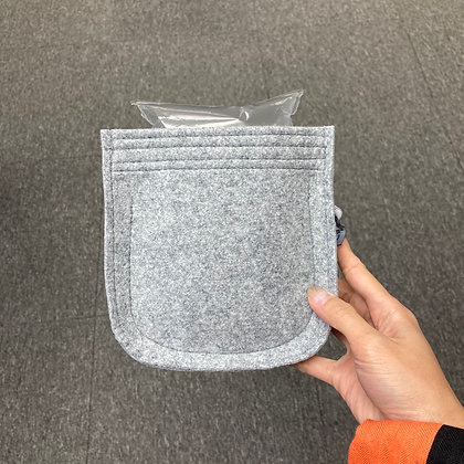 Mini evelyne inner bag (light Gary)