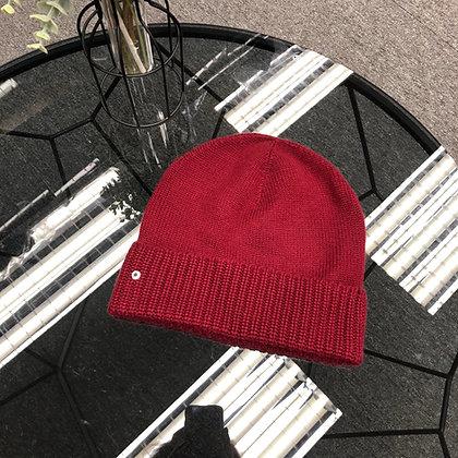 100%cashmere羊絨冷帽 M碼