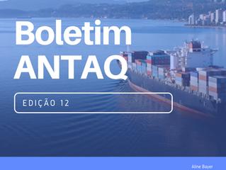 BOLETIM ANTAQ - 12ª EDIÇÃO