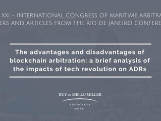 The advantages and disadvantages of blockchain arbitration: a brief analysis of the impacts of tech