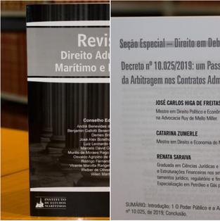 54ª. edição da Revista Síntese de Direito Aduaneiro, Marítimo e Portuário