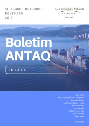 BOLETIM ANTAQ: última edição do ano