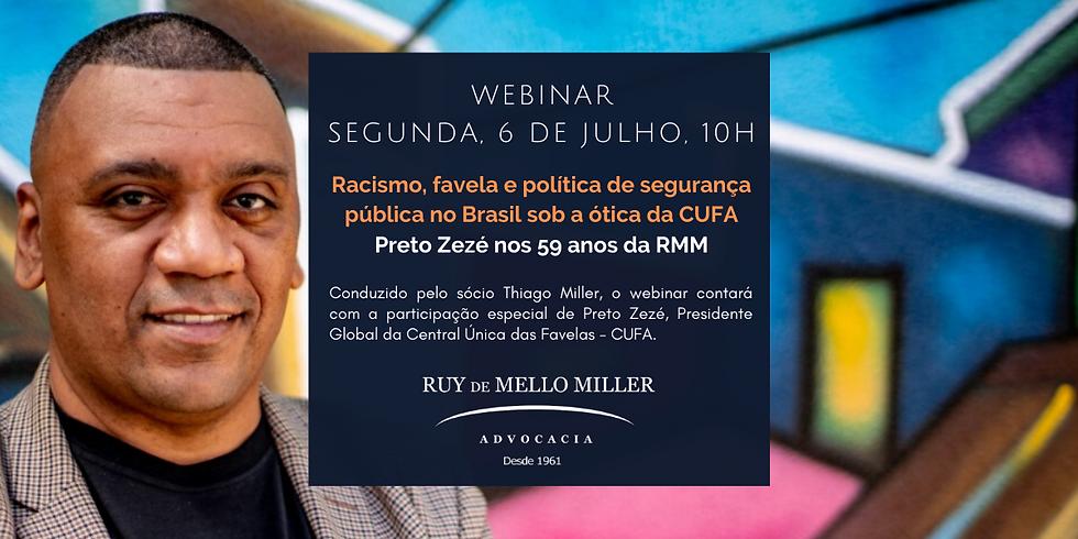 Racismo, favela e política de segurança pública no Brasil sob a ótica da CUFA