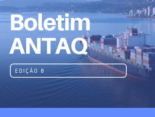 BOLETIM ANTAQ - 8º EDIÇÃO