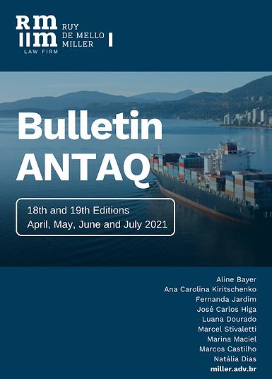 Capa - Bulletin ANTAQ 18 and 19 - RMM 2021.png