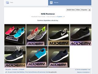 Nike Roshe Run en Academy Gijón