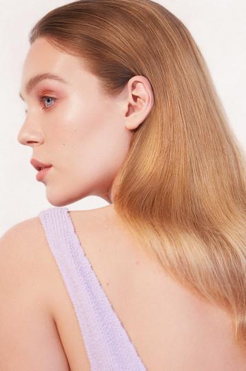 Photographer Daphné Launay  Hair Damien Lacoussade Model Priscilla Mezzadri