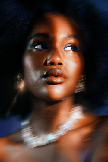 Photographer Julie Michelet Model Fatou from Mademoiselle Agency