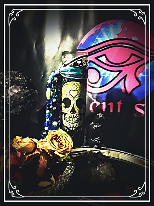 Sugar Skull Suggie Candle