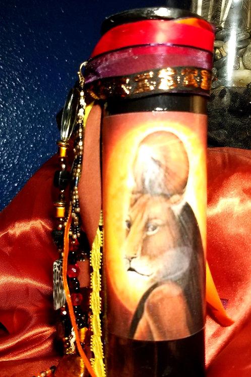 'Sekhmet' Goddess candle