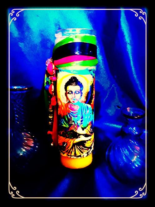 Buddha Prayer Candle