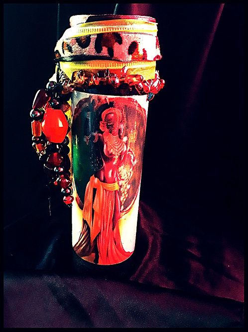 Ochun Goddess Prayer Candle