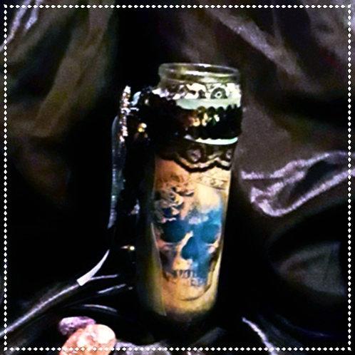 Blue Royal Candle