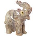 Spirit Animal 1.25-inch Elephant Dolomite