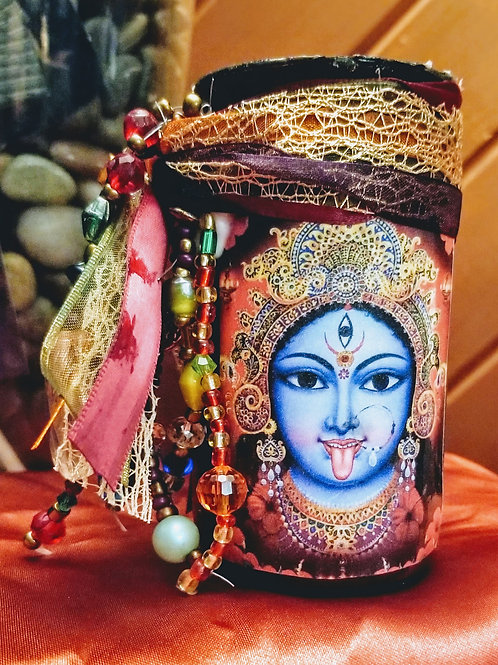 'Kali' Goddess Candle