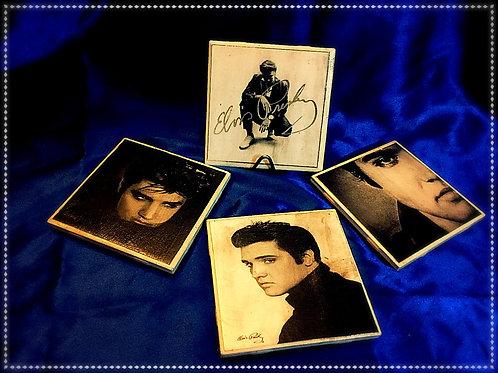Elvis Ceramic Coaster set