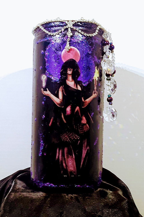 Hekate Triple Goddess Candle