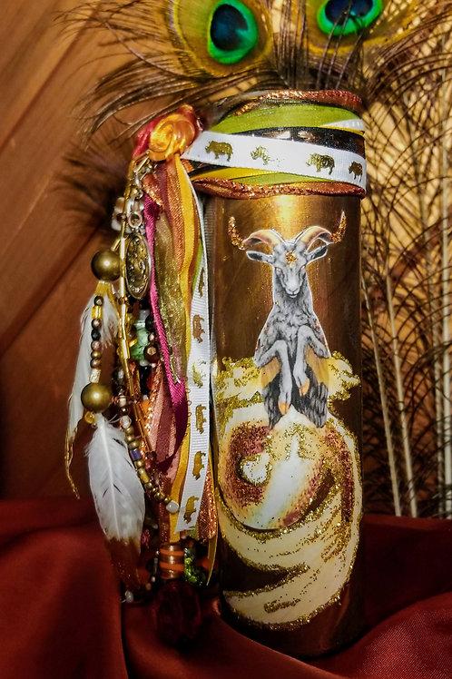 Capricorn Candle, Zodiac Collection