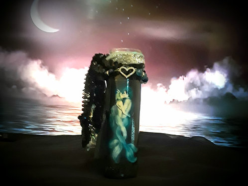 Kissed by the Sea Candle