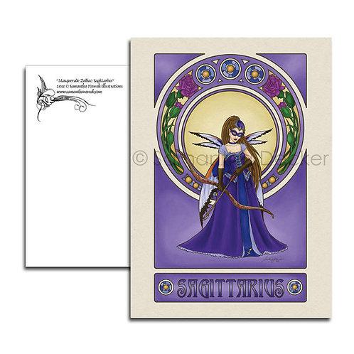Masquerade Zodiac POSTCARDS