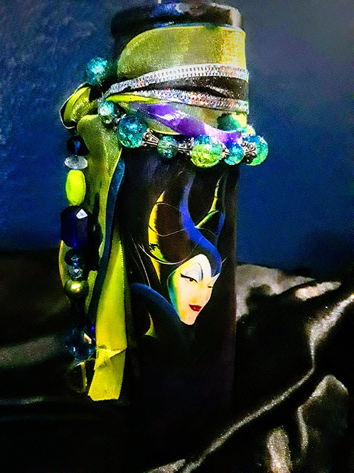 Maleficent Candle