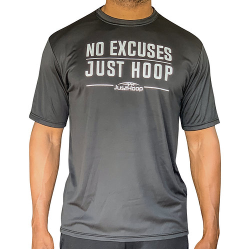 """No Excuses"" Performance  T-Shirt"