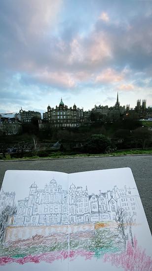 Edinburgh: Princess Street