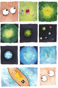 The Story between Planets