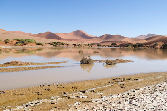 Sossusvlei with Water