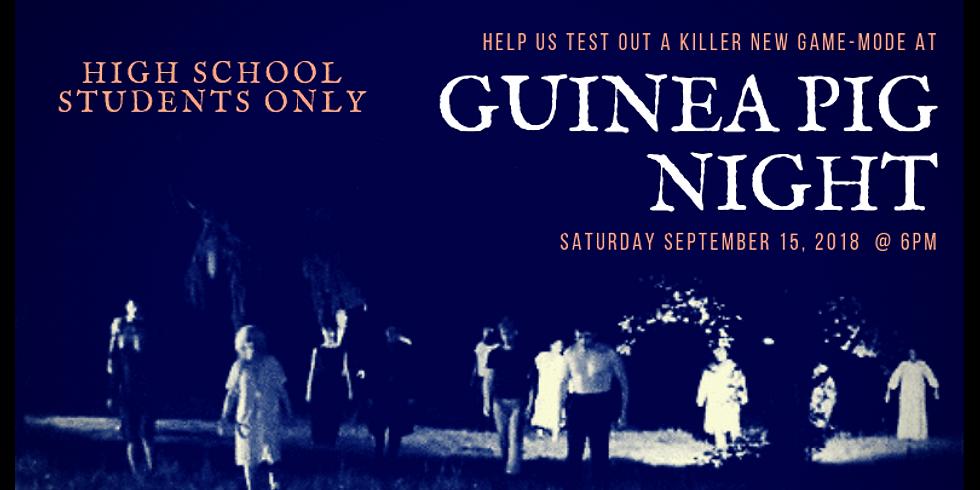 GUINEA PIG NIGHT