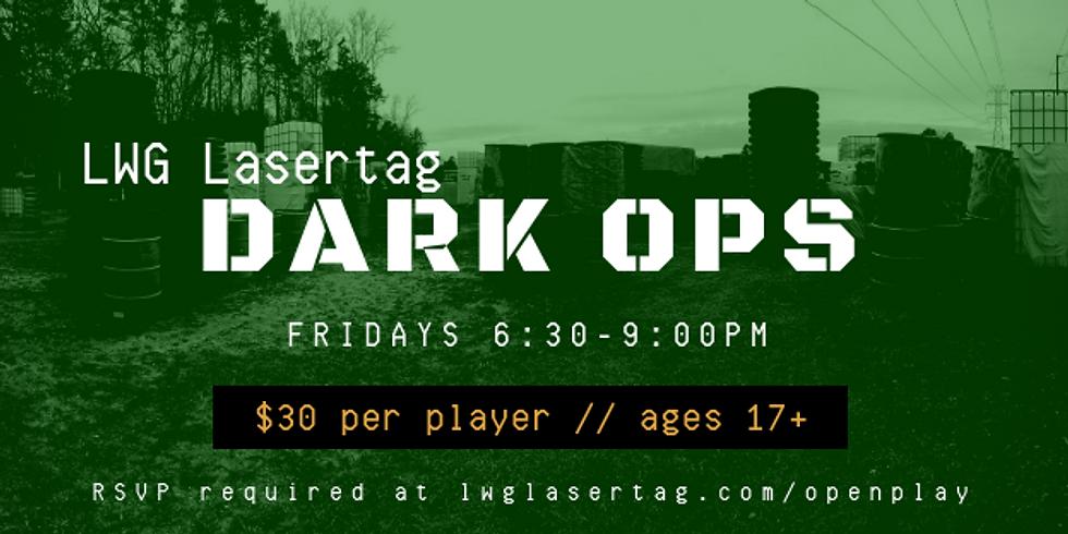 DARK OPS Laser Tag