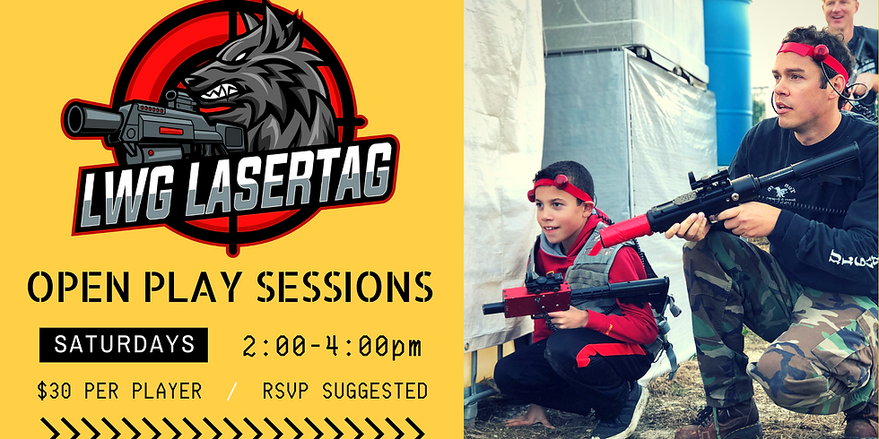 OPEN PLAY Session 2-4pm