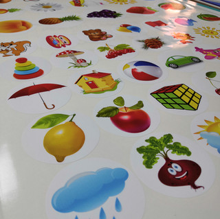 Стикеры для детских садов