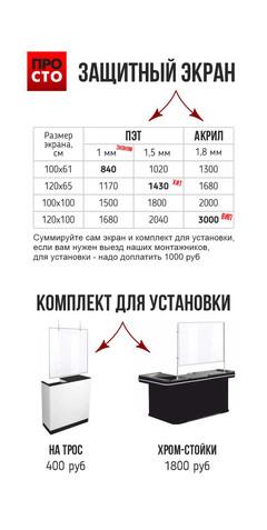 защитный экран,защитное стекло для кассы, для кассира