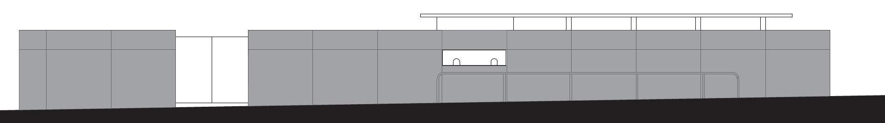 חזית ביתן כניסה