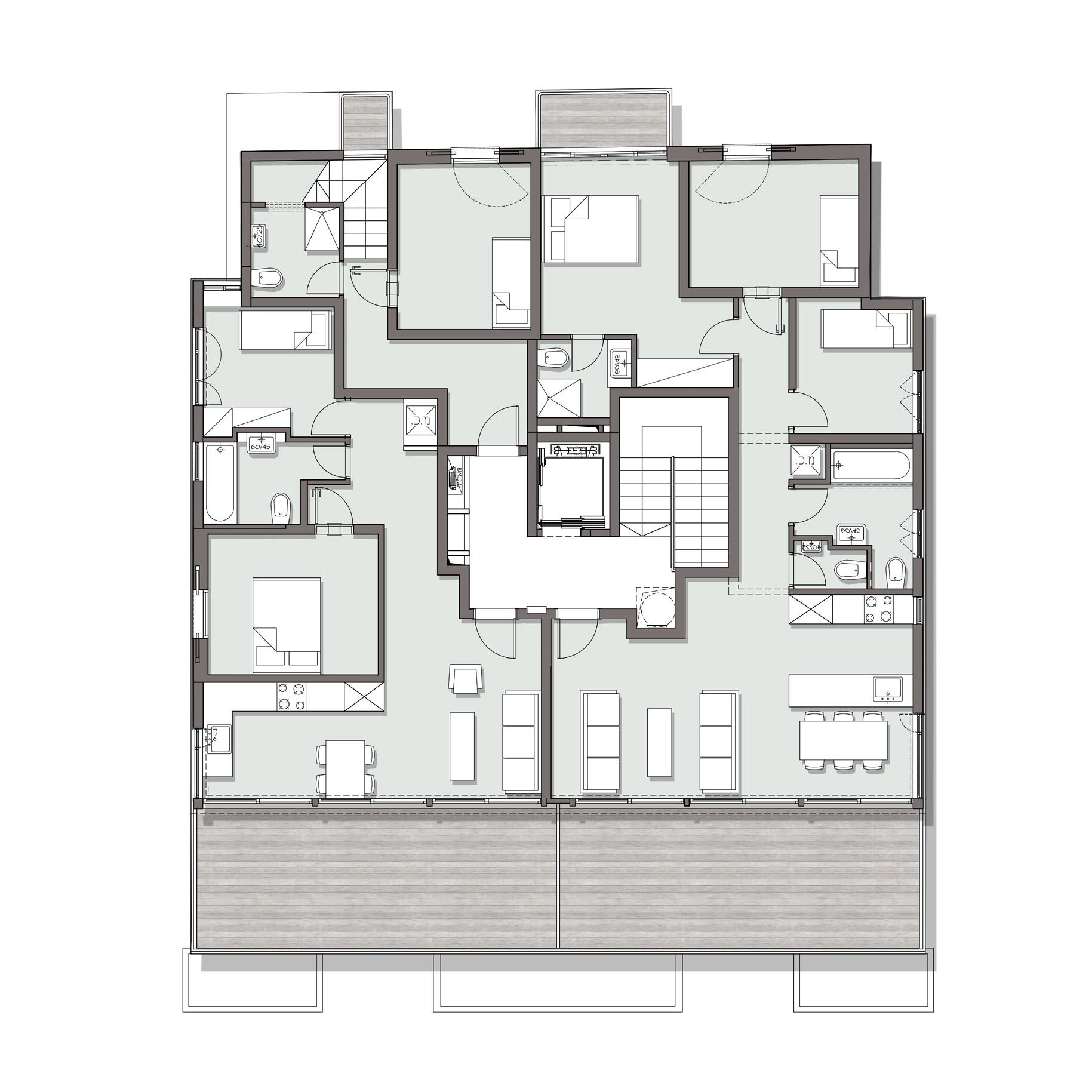 קומה טיפוסית
