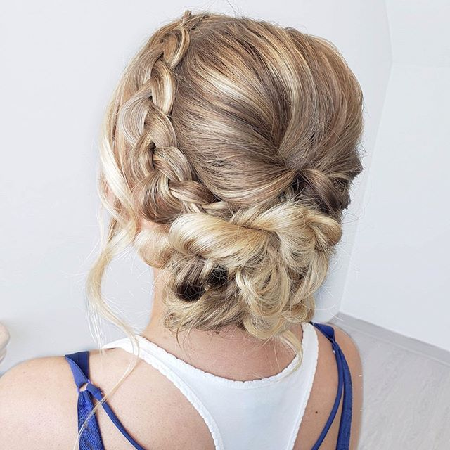First prom weekend down! Gorgeous updo f